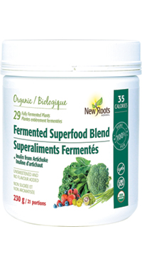 Fermented Superfood Blend + Inulin from Jerusalem Artichoke