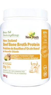 Beef Bone Broth Protein + Organic Fermented Ginger